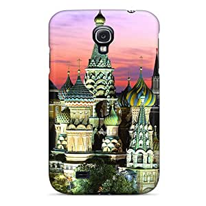 Awesome Design Saint Basils Cathedral Hard Case Cover For Galaxy S4