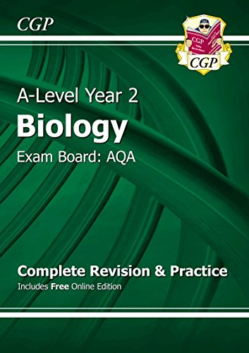 [B.e.s.t] A-Level Biology: AQA Year 2 Complete Revision & Practice with Online Edition KINDLE