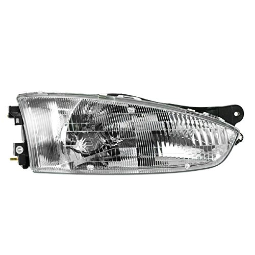 Headlight Headlamp Passenger Side Right RH for 97-02 Mirage 2 Door Coupe (Mitsubishi Mirage 2 Door Coupe)