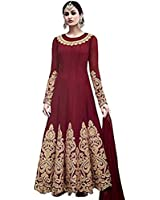 Monika Silk Mill salwar suits for women party wear semi stitched anarkali suit unstiched material offer below blue ladies cotton combo pack dress designer materials embroidery 18 years georgette heavy work low price net piece readymade sets set semi stitched tops for woman Semi-stitched Salwar Suit Dupatta Material (MSM-HLSHRED)
