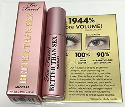Too Faced Better Than Sex Mascara 0.13oz [ 1/2 Of Full Size]