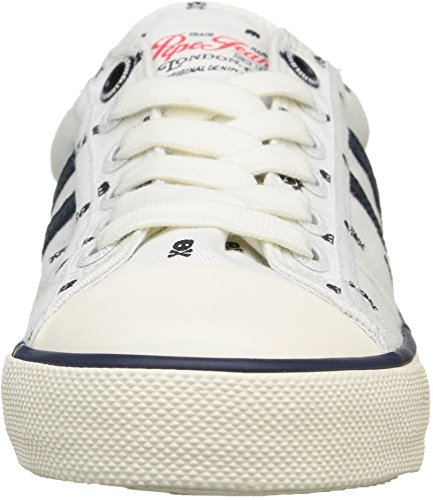 White Jeans Blanc Basses Pepe 800 Skulls Baskets Serthi garçon A6H8nqRZ8