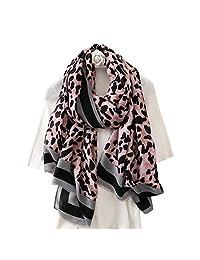 K-Elewon Women Winter Leopard Fashion Scarves Cotton Scarf Shawls And Wraps