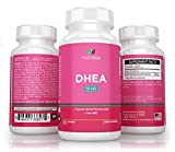 Nutrissa® DHEA 50mg - Healthy Hormonal Balance for Men and Women - Non-GMO Supplement - 100% Money Back Guarantee