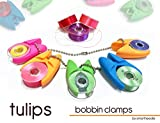 Smartneedle SNTULIP12 Tulips 12 Piece Bobbin Clamps Art and Craft Product