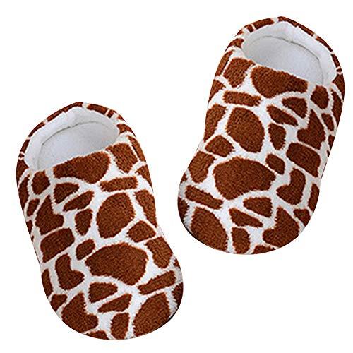 De Ménage 1 Chaussures Lujiaoshout Imprimées taille Peluche Chaudes Doux Mode 38 40 Non Confortables Pantoufles En Paire Glissantes D'intérieur Léopard wxZZIRzq8