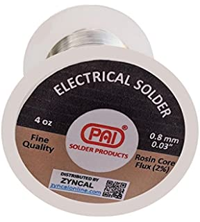 PAI Solder, 4 Oz, Tin Lead 60/40, Rosin Core Flux,