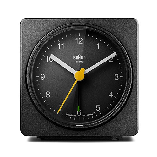 Braun BNC011BKBK Classic Alarm Quartz