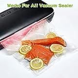 """Vacuum Sealer Bags, 2 Pack 8"""" x 25' Sous Vide"""
