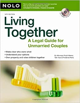Book Living Together: A Legal Guide for Unmarried Couples 14th edition by Warner Attorney, Ralph, Ihara Attorney, Toni, Hertz Attorney (2008)