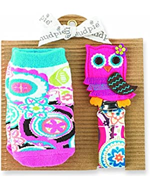 Owl Sock and Pacy Set