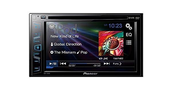 Pioneer AVH-170DVD Negro Receptor Multimedia para Coche - Radio para Coche (Negro, 4.0 Canales, 50 W, CD,CD-R,CD-RW,DVD, 24-bit, MOSFET): Amazon.es: ...