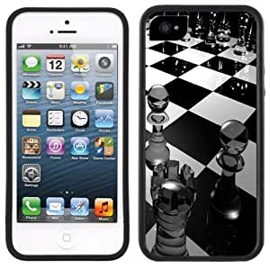 Chess Pieces Board Game Handmade Case For Samsung Galaxy S3 i9300 Cover Black Case