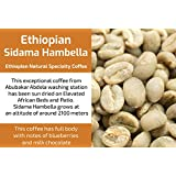 Sidama Hambella Gr3 - Unroasted Natural Ethiopia Coffee (1 Kg / 2.2 Lbs)