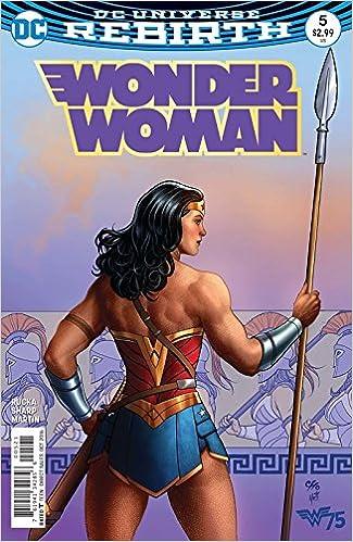 bbc7c016 Wonder Woman (Issue #5 -Variant Cover by Frank Cho): Greg Rucka, Liam  Sharp: Amazon.com: Books