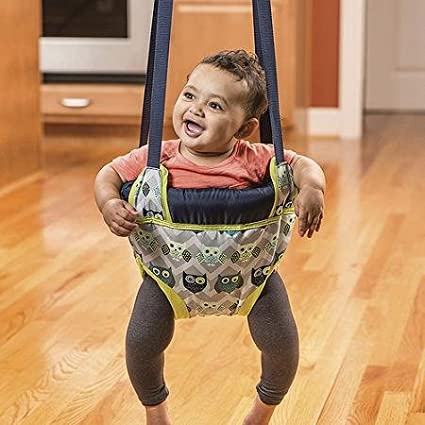 Evenflo, ( Owl ) Doorway Jumper Stimulates baby Through Jumping Fun And Exercise EvenFlo®