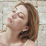 LOYATA Open Triangle Geometric Earring, 14K Gold