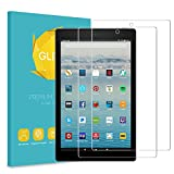 Fintie [2-Packs] Screen Protector for All-New Fire HD 10, [9H Hardness] Tempered Glass Ultra Clear [Scratch-Resistant] Screen Protector Film for Amazon Fire HD 10.1'' Tablet (7th Generation - 2017)