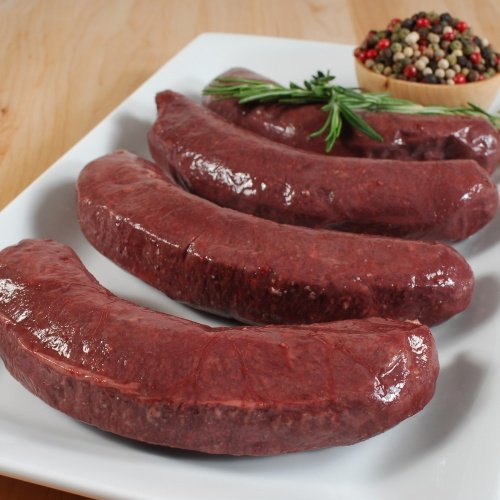 Boudin Noir (Blood Sausage) - 4 Links - 1 x 1 lb