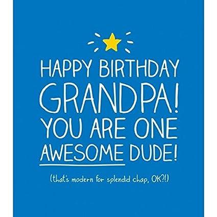 Tarjeta de felicitaciones - feliz cumpleaños abuelito ...