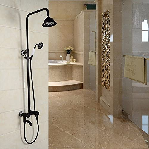 壁掛け回転式ベルトリフトオール銅製アンティークプルシャワーシャワー蛇口