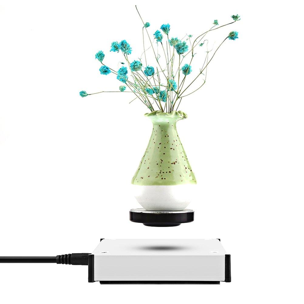6 Pollici Globo Magnetico Levitazione con LED Luci Mappamondo Luminoso per Decorazione di Casa Ufficio Blu ZJchao