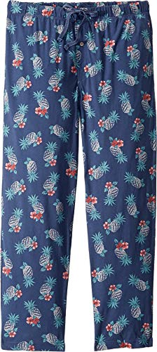 Tommy Bahama Men's Printed Knit Pants Hibiscus Large ()