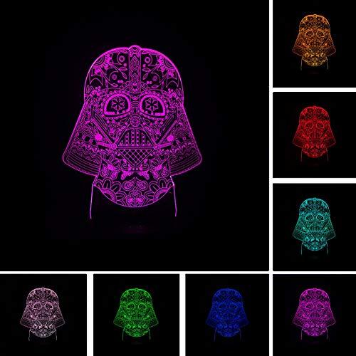 WFUBY Night Light 3D Nightlight LED Lights Child Kids Friends Gifts Bedroom Decor