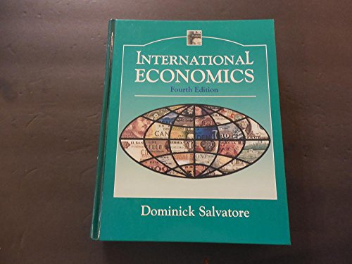 International Economics hc Dominick Salvatore 4th Edition 1990