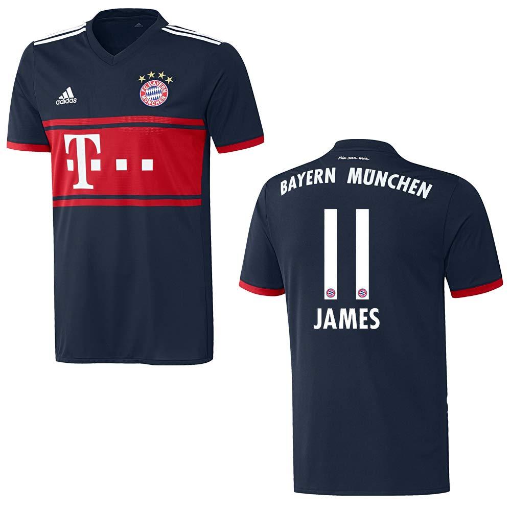 Adidas Bayern Trikot Away Kinder 2018 - James 11