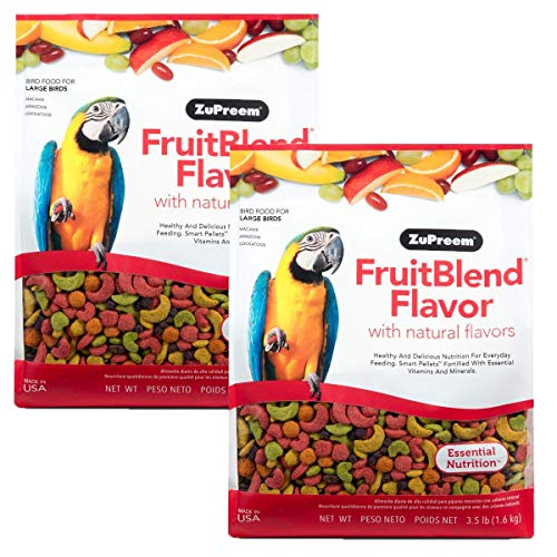 ZuPreem Fruit Blend Bird Food Large Parrot, 7 lb.