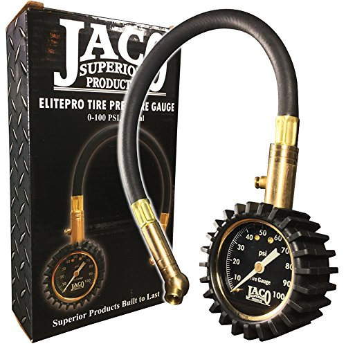 High Pressure Tire (JACO ElitePro Tire Pressure Gauge - 100 PSI)