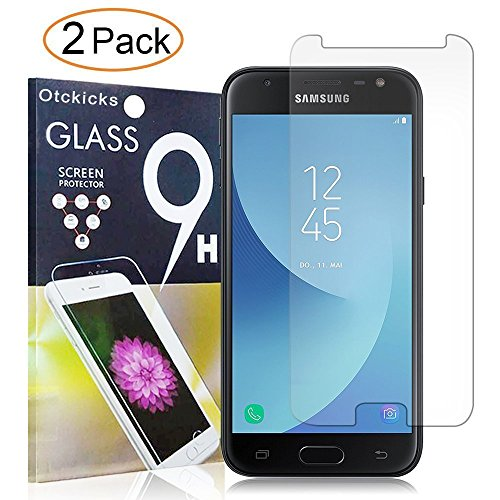 Tempered Glass For Samsung Galaxy J3 Pro (Clear) - 1