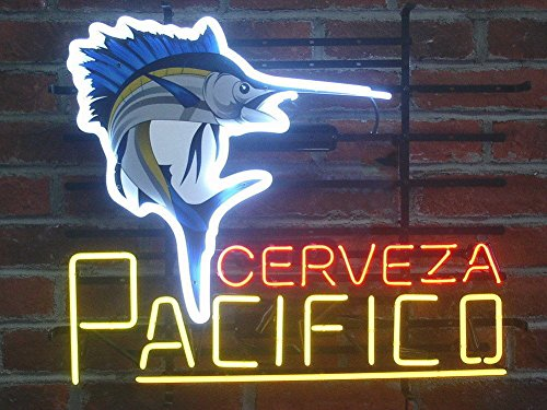 """Used, Desung Brand New 17""""x13"""" Cerveza Pacifico Swordfish for sale  Delivered anywhere in USA"""