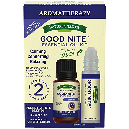 Price comparison product image Nature's Truth Goodnite Essential Oil Roll-On Kit,  2 Count