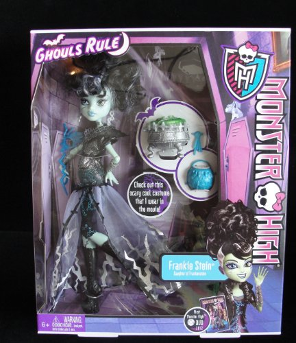 Monster High Ghouls Rule Frankie Stein Doll ()