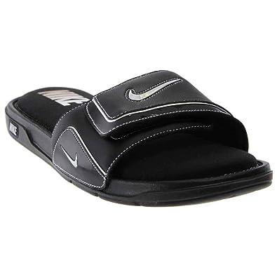 659fc1107455 Nike Mens Comfort Slide 2 Sandals Black