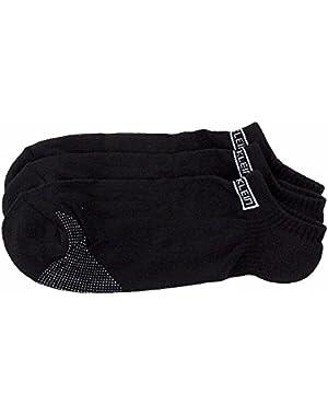 Calvin Klein Men's 3-Pack Sport Ankle Socks Sz: 10-13; Fits 7-12