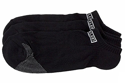 Calvin Klein Men's 3-Pack Black Sport Ankle Socks Sz: 10-13; Fits 7-12 by Calvin Klein