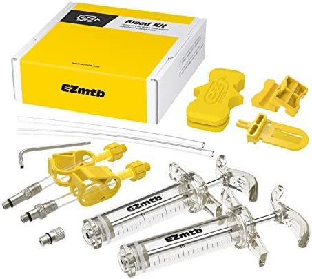 EZ Bicicleta de montaña Freno de Disco hidráulico Dot Aceite Mineral Bleed Kit para Avid fórmula hanyes Echo Shimano tekro HS33Magura Nutt