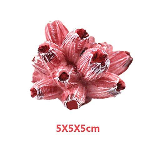 KAYI Fish Tank Landscape Artificial Coral Mini Crafts Aquatic Plant Ornament Flower/Starfish