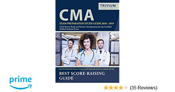 photo regarding Cma Practice Test Printable named CMA Examination Preparing Investigate Expert 2018-2019: CMA Critique E book