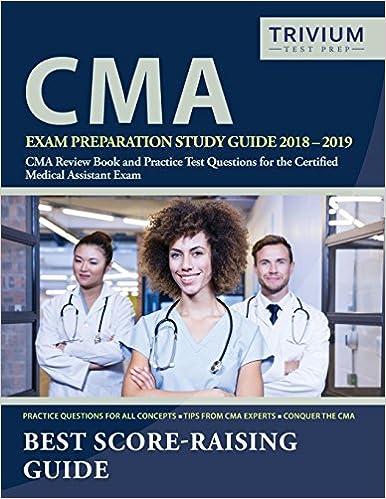 photo regarding Cma Practice Test Printable called CMA Examination Planning Exploration Specialist 2018-2019: CMA Assessment Guide