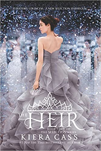 Image result for the heir kiera cass book cover