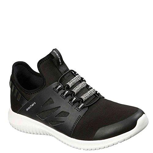 Zapatillas Mujer blanco Negro Zapatillas Skechers Skechers xpCw8Rqz