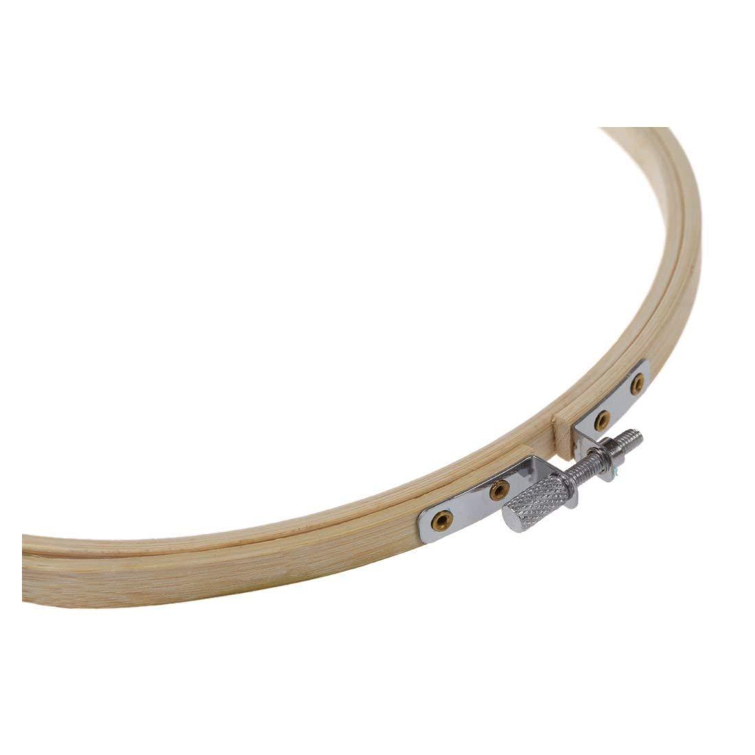 3 piezas 3 tama/ños aros de bordado de bamb/ú c/írculo de punto de cruz anillo de aro 5//6.7//7.9 pulgadas para bordar y punto de Cruz