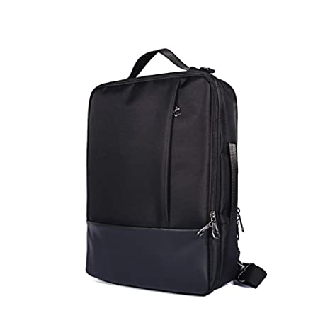 3-Ways Multifunctional Laptop Backpack Briefcase Messenger Shoulder Bag for 15.6 Inch MSI P65 Creator