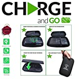 Solar Charger Power Bank 30000mAh, 2BConnect