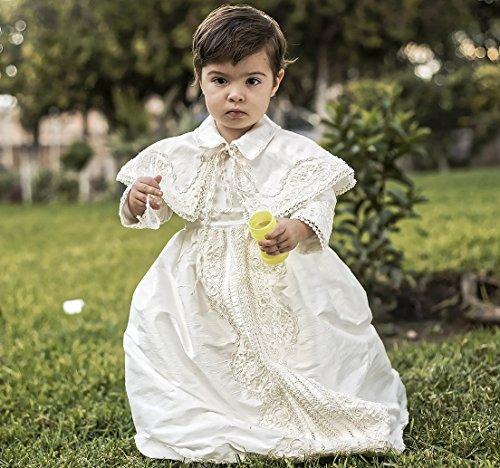Vintage baptismal gown for boys Model B008   Detachable skirt and ...