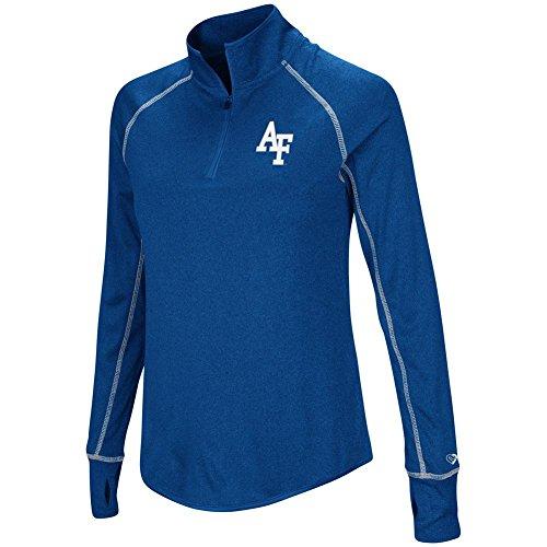 Colosseum Ladies Air Force Academy Falcons Jacket Lightweight Quarter Zip Shirt ()